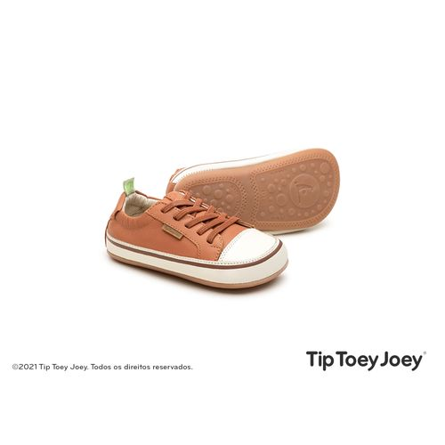Tenis-Tip-Toey-Joey-Funky-Marrom-Claro