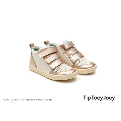 Bota-Tip-Toey-Joey-Little-Metro-Salmao-Metalico