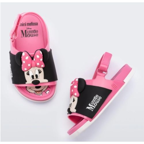 Sandalia-Mini-Melissa-Beach-Slide---Mickey-and-Friends-Rosa