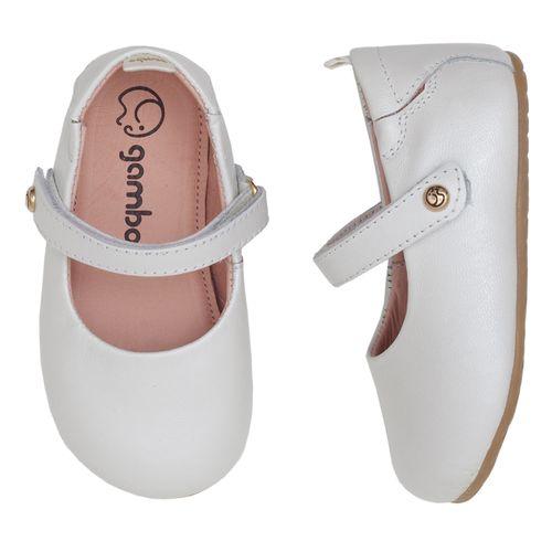 Sapatilha-Gambo-Baby-Classica-Glitter-Branco