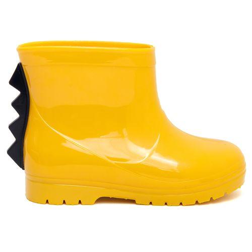 galocha-infantil-amarela-dino
