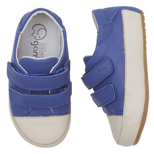 tenis-gambo-baby-azul-velcro