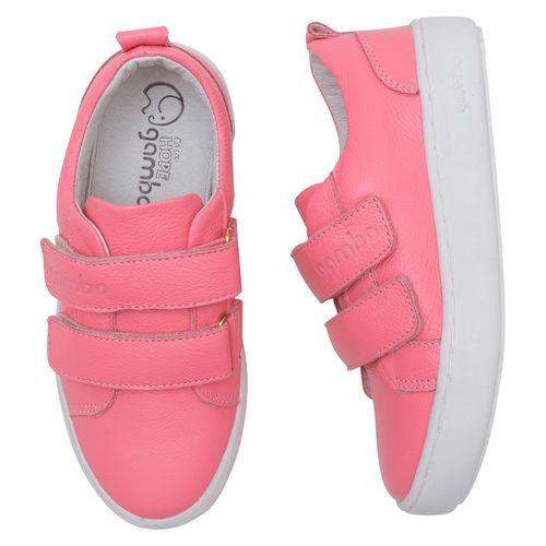 tenis-infantil-gambo-rosa-pink-velcro