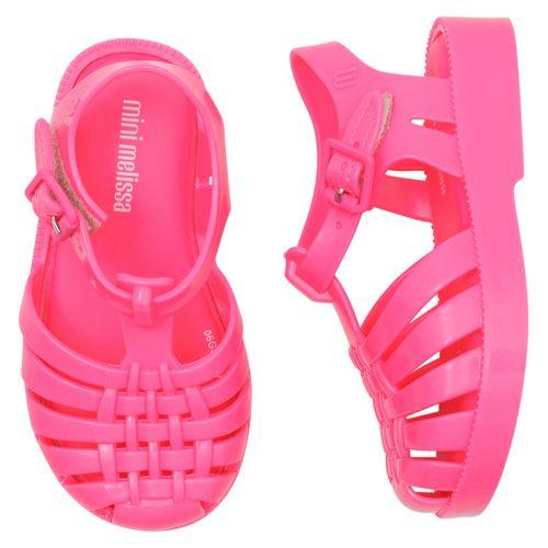 sandalia-infantil-mini-melissa-rosa-neon