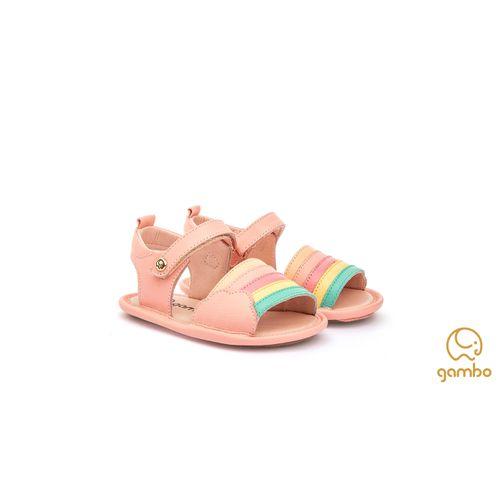sandalia-gambo-baby-arco-iris-rosa-pessego