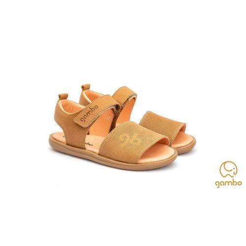Sandalia-Infantil-Gambo-Baby-Kids-Classica-Marrom-Damasco
