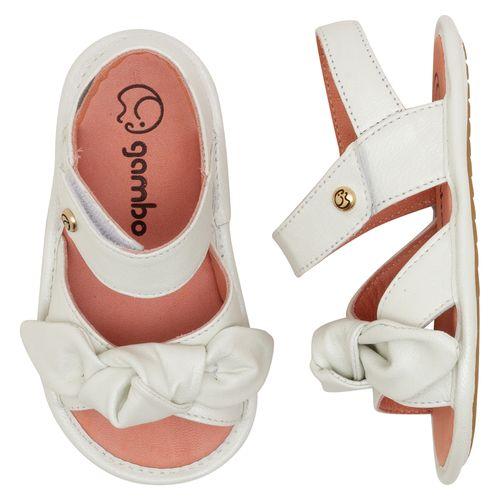 Sandalia-Infantil-Gambo-Baby-Laco-Branco-Glitter-New