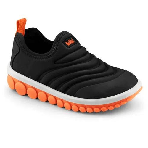 tenis-infantil-bibi-roller-preto-e-laranja